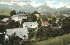 Dittersbach Wilhelminenwand Marienfels Rabenstein *