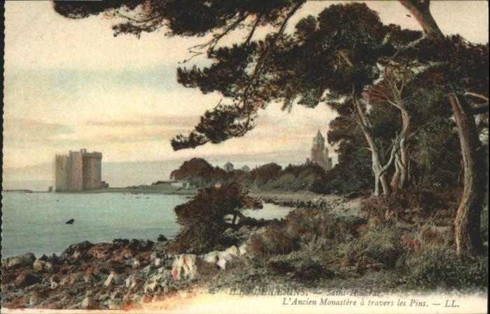 Ile Saint-Honorat Alpes Maritimes Ancien Monastere  * / Cannes /Arrond. de Grasse