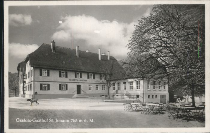 St Johann Wuerttemberg St Johann Gestuet Gasthof * / St. Johann /Reutlingen LKR
