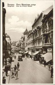 Beograd Belgrad Belgrade Rue Prince Michel * /  /