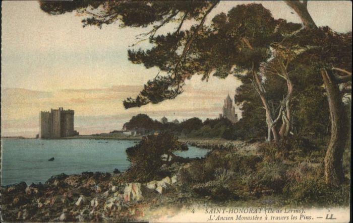 Ile Saint-Honorat Alpes Maritimes Monastere * / Cannes /Arrond. de Grasse