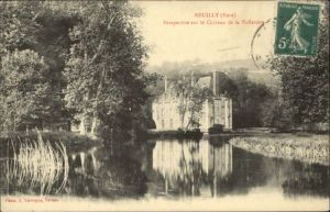 Neuilly Eure Neuilly Eure Chateau Folletiere x / Neuilly /Arrond. d Evreux