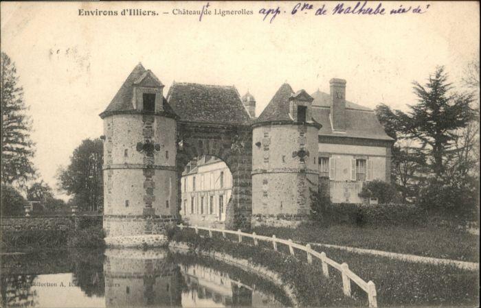 Le Thieulin Lignerolles Chateau  x / Le Thieulin /Arrond. de Nogent-le-Rotrou