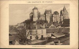 Vitre d Ille-et-Vilaine Vitre Chateau  * / Vitre /Arrond. de Rennes