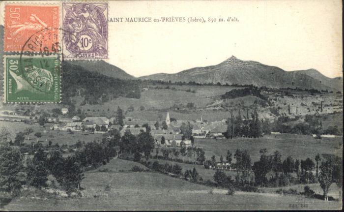 Saint-Maurice-en-Trieves Trieves Isere x / Saint-Maurice-en-Trieves /Arrond. de Grenoble