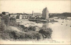 Saint-Malo Ille-et-Vilaine Bretagne Saint-Servan Poste Douaniers Port Solidor * / Saint-Malo /Arrond. de Saint-Malo