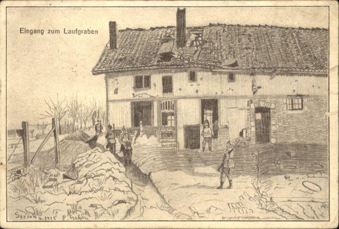 Servon Manche Kuenstler L. Schoen * / Servon /Arrond. d Avranches