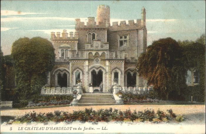 Neufchatel-Hardelot Hardelot Chateau Jardin * / Neufchatel-Hardelot /Arrond. de Boulogne-sur-Mer