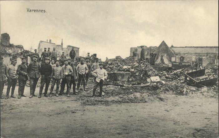 Varennes-en-Argonne Varennes  * / Varennes-en-Argonne /Arrond. de Verdun