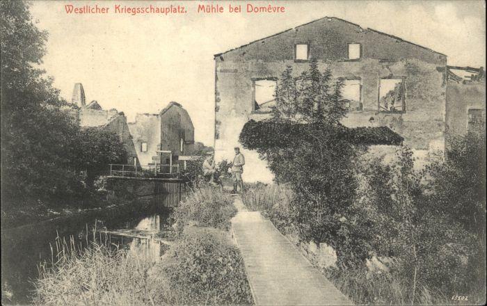 Domevre-en-Haye Westlicher Kriegsschauplatz Muehle x / Domevre-en-Haye /Arrond. de Toul
