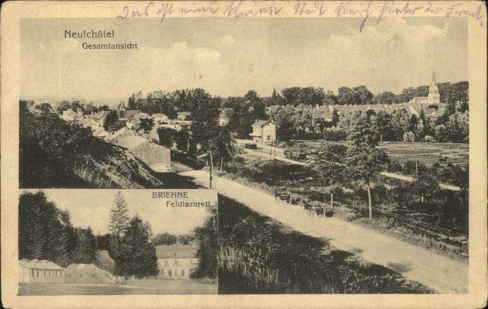 Neufchatel-sur-Aisne Neufchatel Brienne Feldlazarett * / Neufchatel-sur-Aisne /Arrond. de Laon
