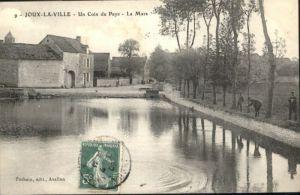 Joux-la-Ville Yonne Coin Pays Mare x / Joux-la-Ville /Arrond. d Avallon