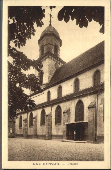 Saint-Hippolyte Haut-Rhin Eglise * / Saint-Hippolyte /Arrond. de Ribeauville