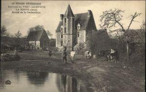 Le Theil Orne Theil-sur-Huisne Perche Pittoresque Rouge Gauberdiere Kuehe * / Le Theil /Arrond. de Mortagne-au-Perche