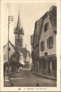 Obernai Bas Rhin Obernai Rue Ste. Odile * / Obernai /Arrond. de Selestat-Erstein