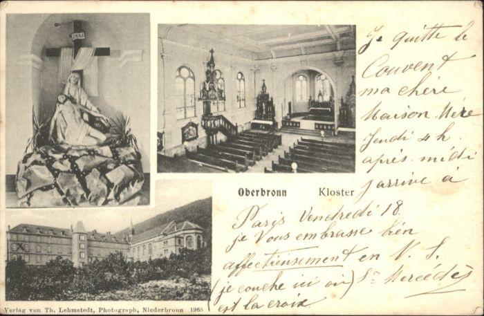 Oberbronn Bas Rhin Elsass Oberbronn kloster x / Oberbronn /Arrond. de Haguenau