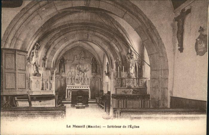 Le Mesnil Manche Eglise * / Le Mesnil /Arrond. de Cherbourg