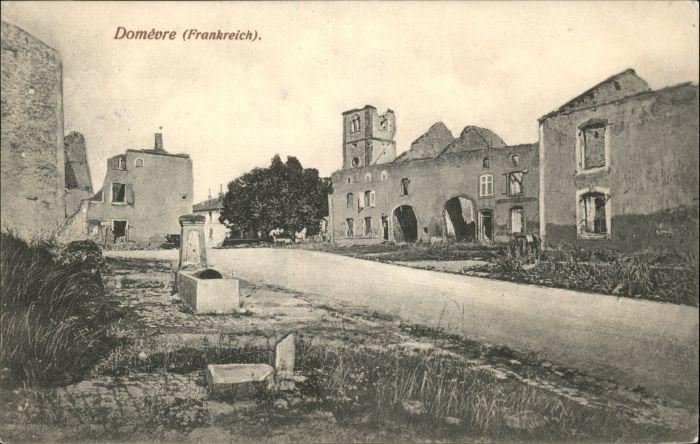 Domevre-en-Haye Ruinen Zerstoerung / Domevre-en-Haye /Arrond. de Toul