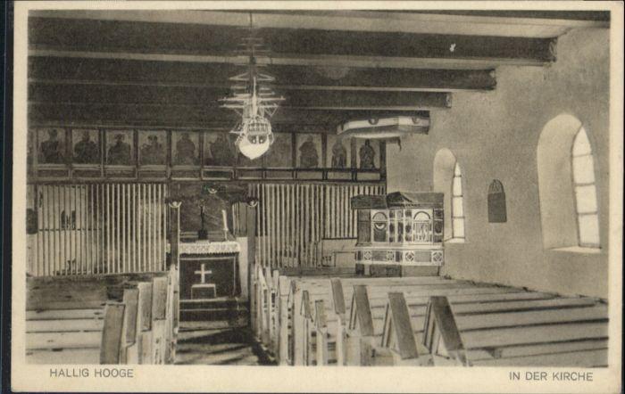 Hooge Hallig Hooge Hallig Kirche * / Hooge /Nordfriesland LKR