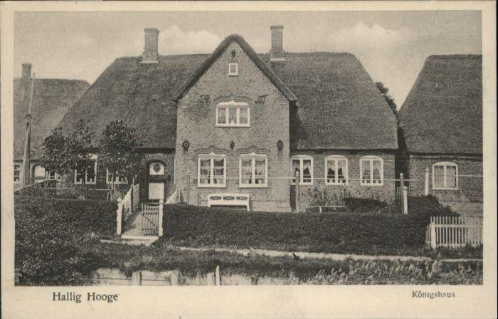 Hooge Hallig Hooge Hallig Koenigshaus * / Hooge /Nordfriesland LKR