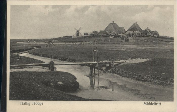 Hooge Hallig Hooge Hallig Middeltritt * / Hooge /Nordfriesland LKR