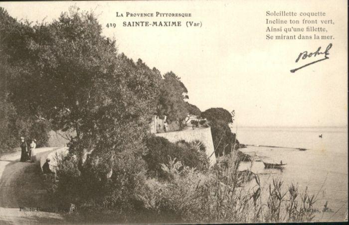 Sainte Maxime sur Mer Var Sainte Maxime  * / Sainte-Maxime /Arrond. de Draguignan
