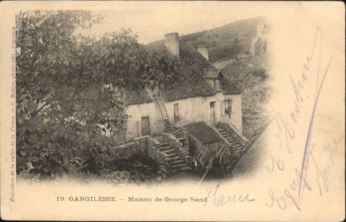 Gargilesse-Dampierre Maison de George Sand x / Gargilesse-Dampierre /Arrond. de La Chatre