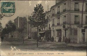 Saint-Denis Seine Saint Denis La Laine-Saint-Denis Postes Telegraphes x / Saint-Denis /Arrond. de Saint-Denis