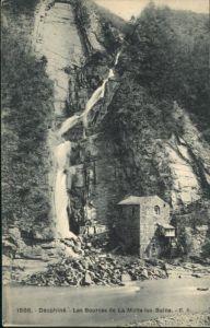 La Motte-Saint-Martin Sources Wasserfall * / La Motte-Saint-Martin /Arrond. de Grenoble