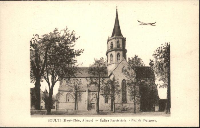 Soultz-Haut-Rhin Eglise Alsace * / Soultz-Haut-Rhin /Arrond. de Guebwiller