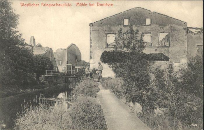 Domevre-en-Haye Westlicher Kriegsschauplatz Muehle * / Domevre-en-Haye /Arrond. de Toul