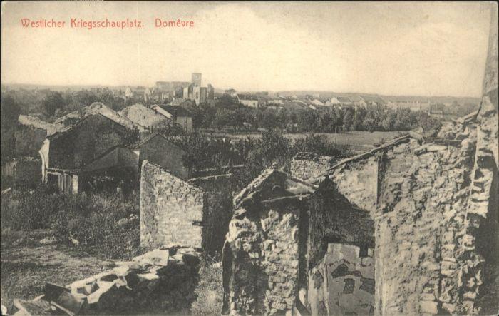 Domevre-en-Haye Westlicher Kriegsschauplatz / Domevre-en-Haye /Arrond. de Toul