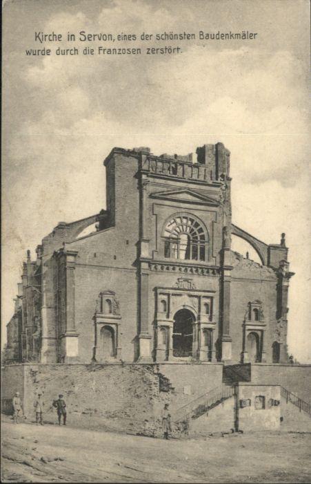 Servon Manche Kirche x / Servon /Arrond. d Avranches
