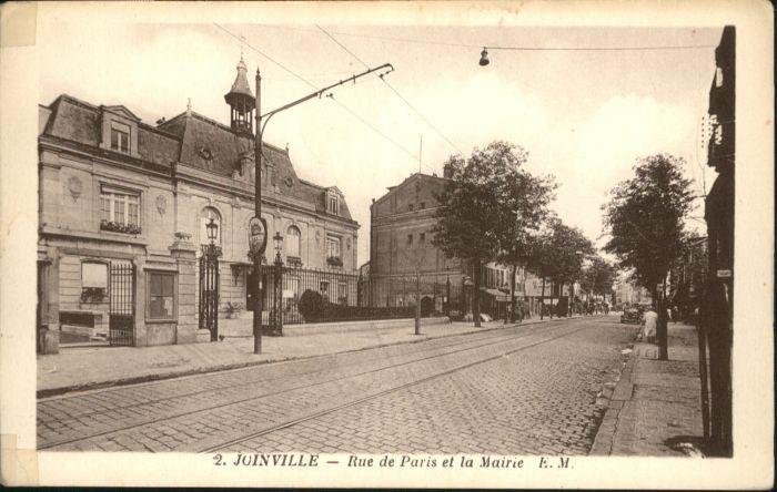 Joinville-le-Pont Rue de Paris La Mairie * / Joinville-le-Pont /Arrond. de Nogent-sur-Marne