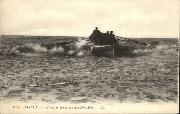 Cayeux-sur-Mer Bateau Sauvetage Pleine Mer * / Cayeux-sur-Mer /Arrond. d Abbeville
