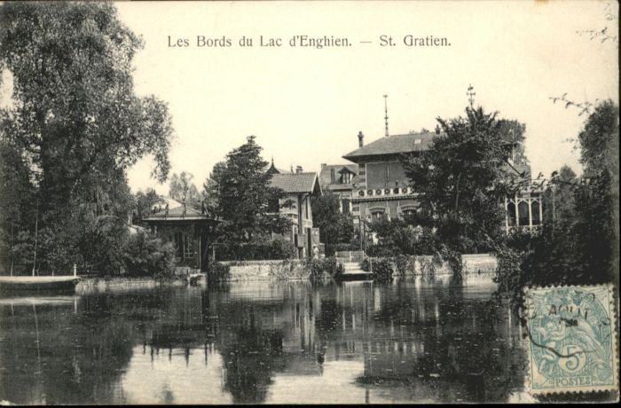 Saint-Gratien Oise Saint-Gratien Bords Lac Enghien x / Saint-Gratien /Arrond. de Sarcelles