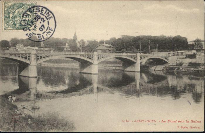 Saint-Ouen Seine-Saint-Denis Saint-Ouen Bruecke x / Saint-Ouen /Arrond. de Saint-Denis