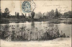 Vincelles Yonne Chateau x / Vincelles /Arrond. d Auxerre