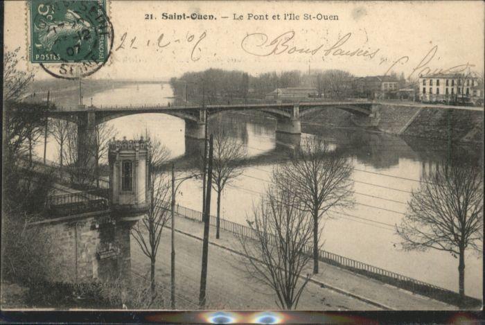 Saint-Ouen-l Aumone Saint-Ouen le Pont x / Saint-Ouen-l Aumone /Arrond. de Pontoise