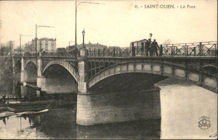 Saint-Ouen Seine-Saint-Denis Saint-Ouen le Pont x / Saint-Ouen /Arrond. de Saint-Denis