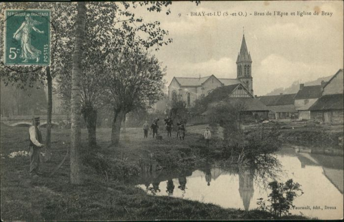 Bray Saone-et-Loire Eglise x / Bray /Arrond. de Macon