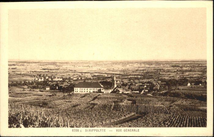 Saint-Hippolyte Haut-Rhin  / Saint-Hippolyte /Arrond. de Ribeauville