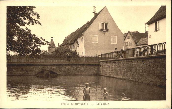 Saint-Hippolyte Haut-Rhin Bassin * / Saint-Hippolyte /Arrond. de Ribeauville