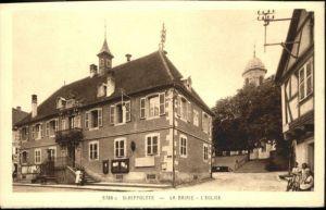 Sainte-Croix-aux-Mines Mairie Eglise * / Sainte-Croix-aux-Mines /Arrond. de Ribeauville