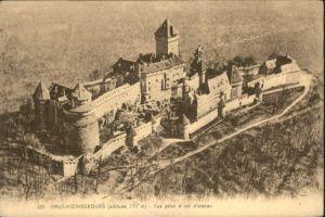 Haut-Koenigsbourg Hohkoenigsburg Haut-Koenigsbourg Oiseau x / Orschwiller /Arrond. de Selestat-Erstein