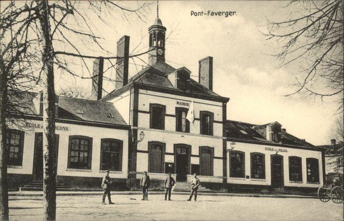 Pont Faverger Pont-Faverger Mairie Ecole * / Faverges /Arrond. d Annecy
