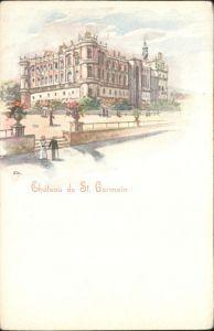 Saint-Germain-en-Laye Saint-Germain Chateau  * / Saint-Germain-en-Laye /Arrond. de Saint-Germain-en-Laye