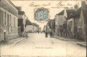 Vincelles Yonne Grande Rue x / Vincelles /Arrond. d Auxerre