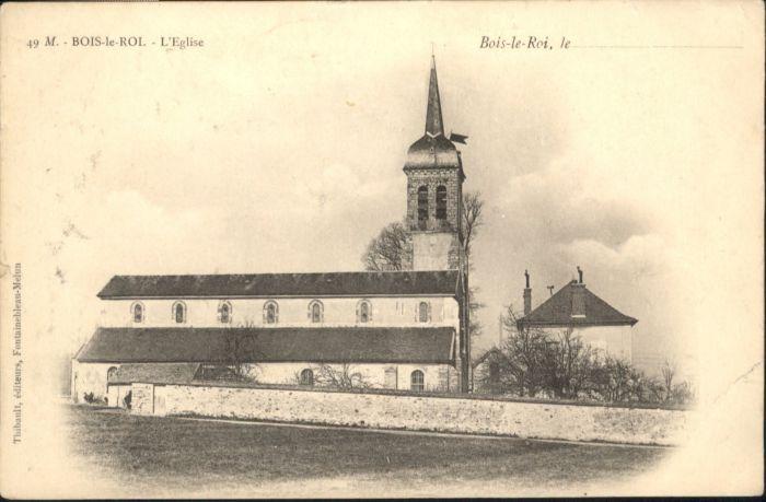 Bois-le-Roi Seine-et-Marne Eglise x / Bois-le-Roi /Arrond. de Fontainebleau