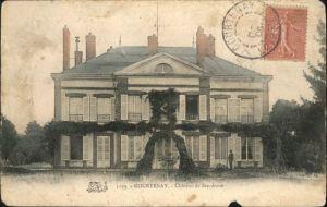 Courtenay Loiret Chateau Ste. Anne x / Courtenay /Arrond. de Montargis